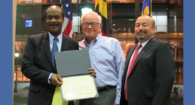 Leggett Attends Keep Montgomery County Clean and Green Awards