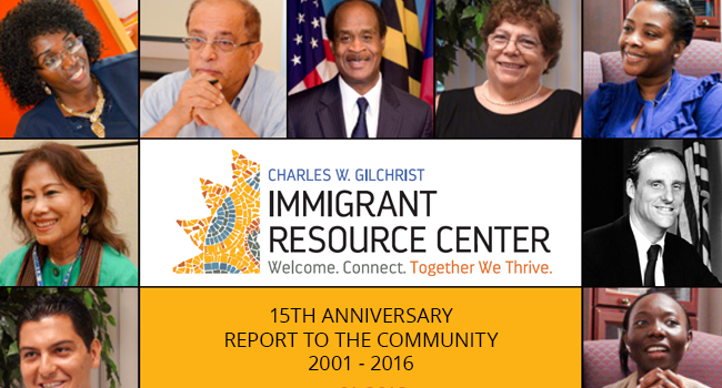 15th Anniversary of the Charles W. Gilchrist Immigrant Resource Center