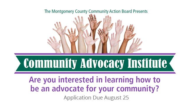 Apply for Community Advocacy Institute