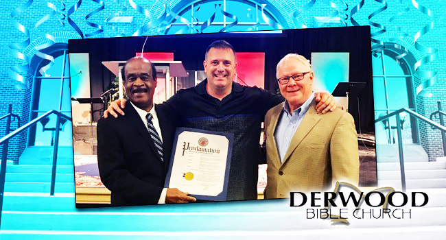Century Mark for Derwood Bible Church