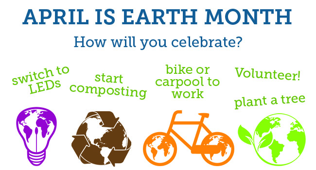 Celebrate Earth Month with the County