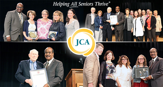 Jewish Council on Aging (JCA) Volunteers of the Year