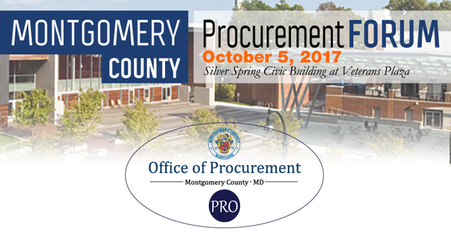 Procurement Forum Set for October 5th