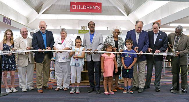 Photo: Aspen Hill Library Refreshed and Reopened