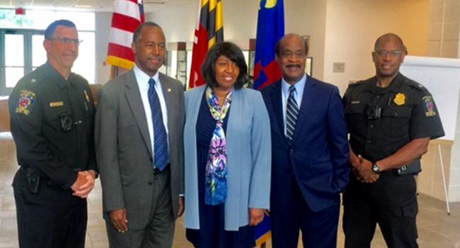 Secretary of Housing and Urban Development Ben Carson Visits County