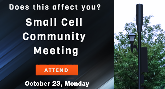 Small Antennas and Shorter Telecommunications Towers Community Meeting