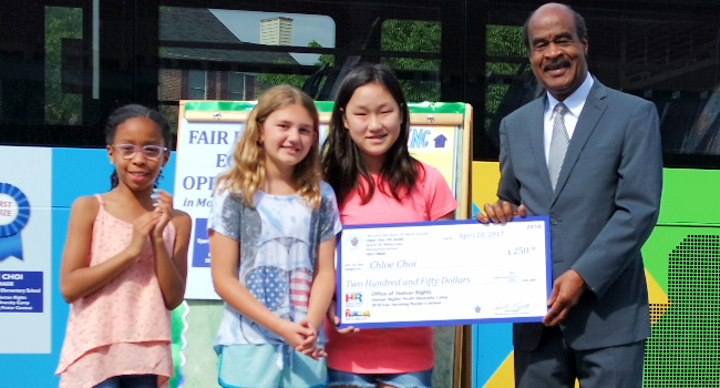 Fifth Grade Students Learn about Fair Housing