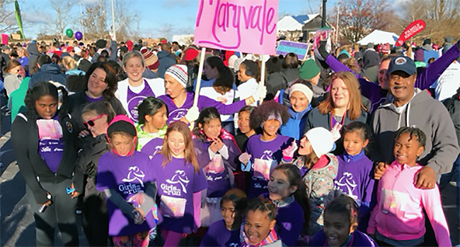 Photo: Girls on the Run 5K