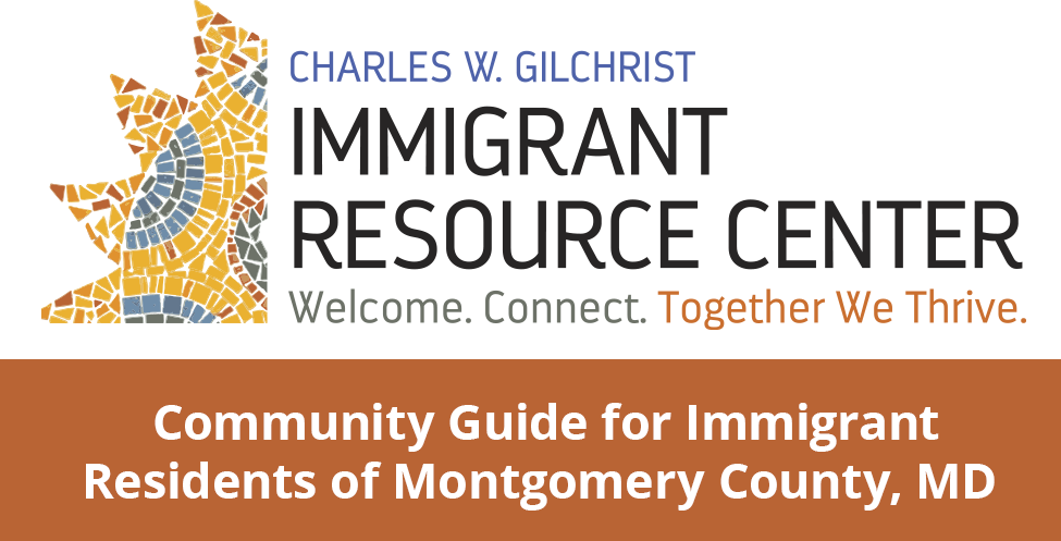 Community Guide for Immigrant Residents in Montgomery County