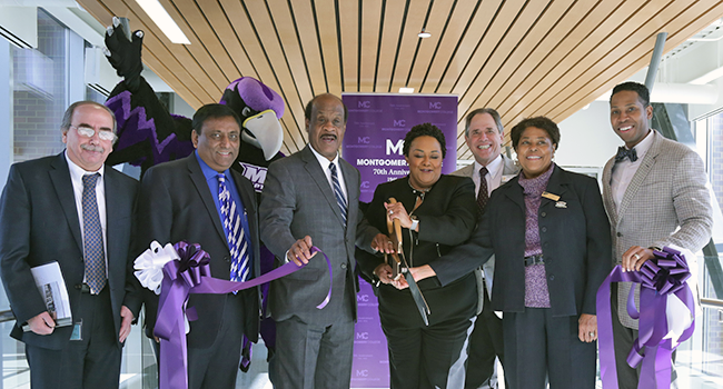Montgomery College Science Center West Ribbon Cutting