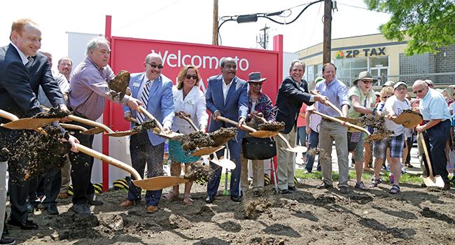 Photo: Groundbreaking for Bold Wheaton Revitalization