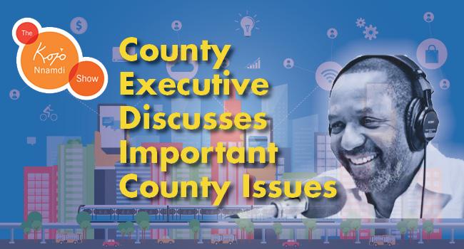 County Executive appears on Kojo Nnamdi