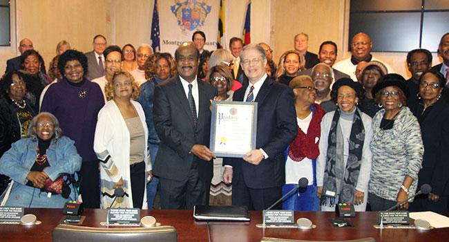 Proclamation recognizing Carlton Reese Memorial Unity Choir