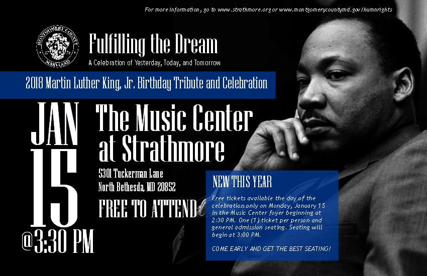 Annual Dr. Martin Luther King, Jr. Day Tribute and Celebration