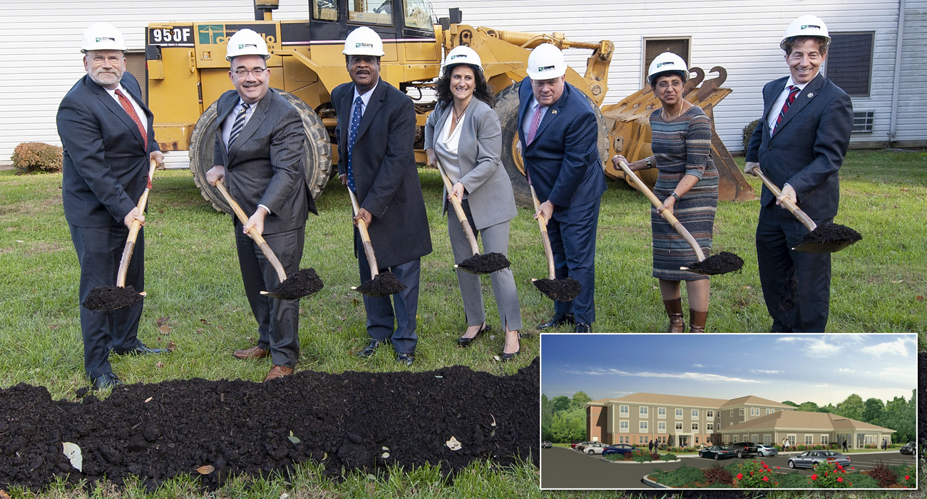 Montgomery County Executive Ike Leggett participated in a groundbreaking ceremony for the new Avery Road Treatment Center.