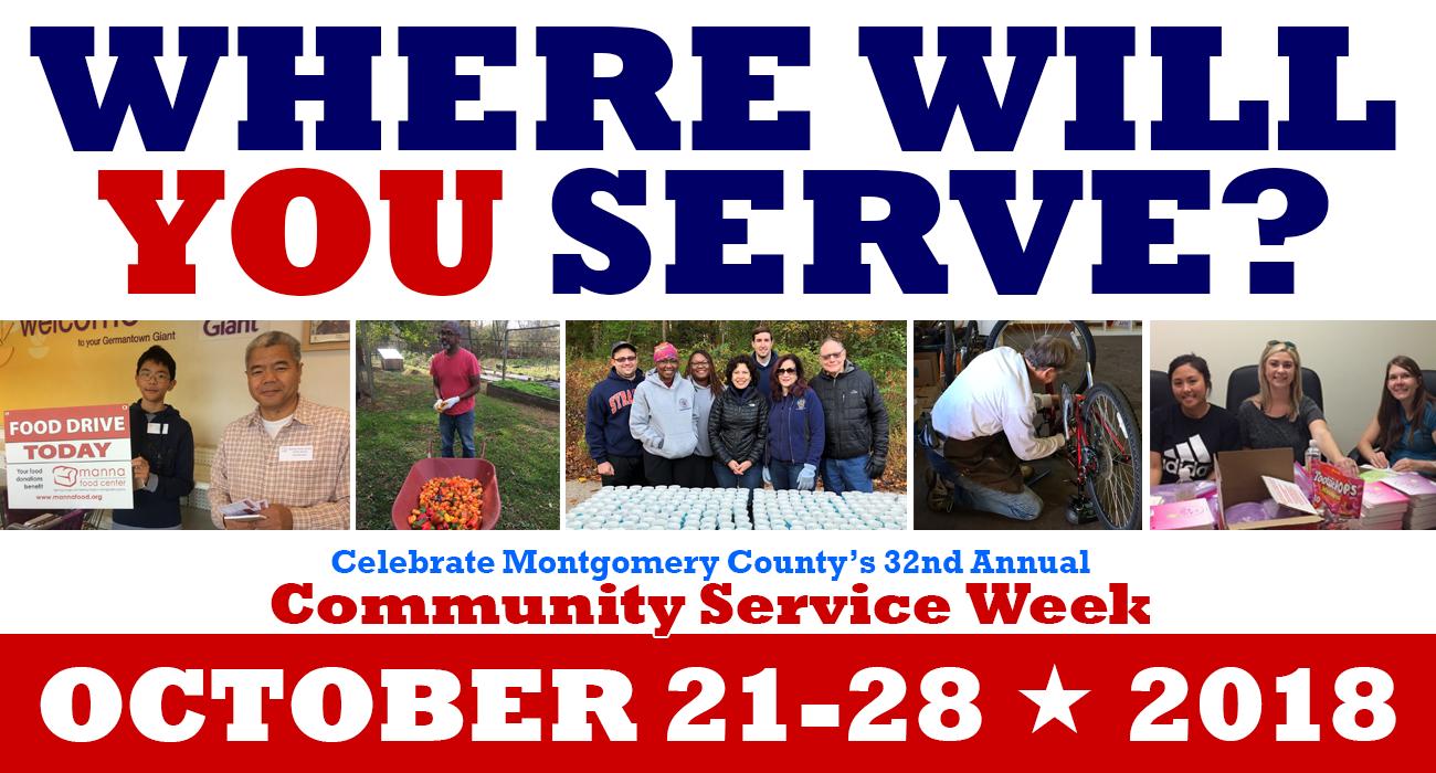 Community Service Week October 21-28