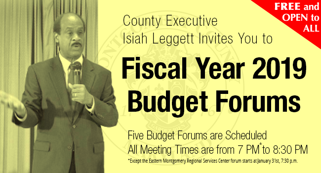 fy2019 budget forum