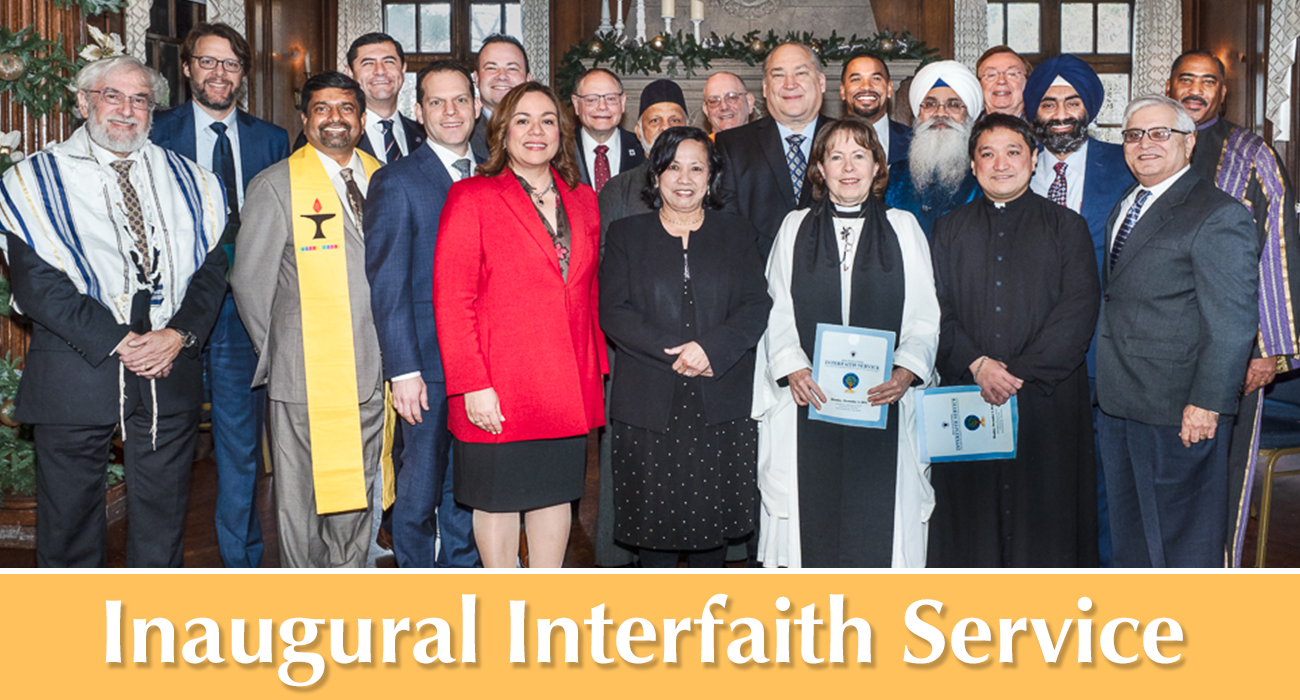 Photo: Inaugural Interfaith Service