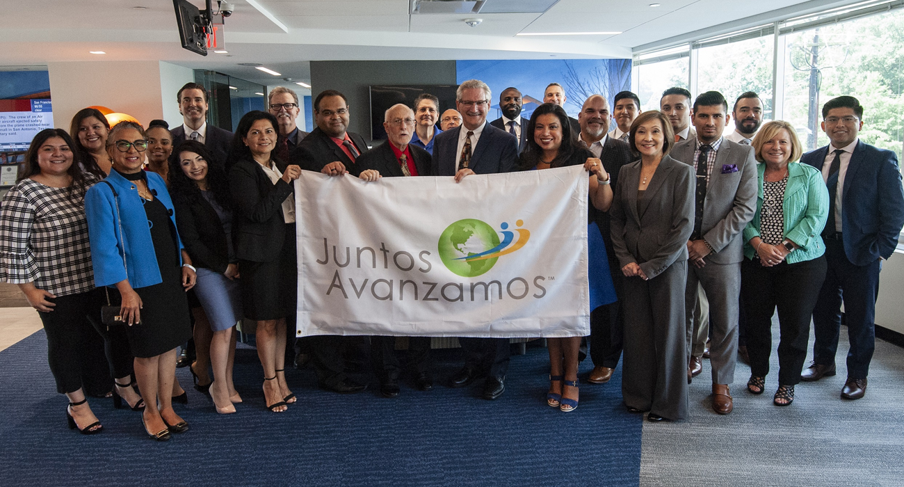 MC EFCU becoming the first credit union in Maryland to achieve Juntos Avanzamos - a designation for credit unions committed to serving and empowering Hispanic consumers