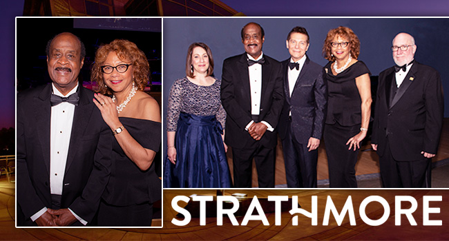 Montgomery County Executive Ike Leggett and County First Lady Catherine Leggett supported the Strathmore Annual Spring Gala