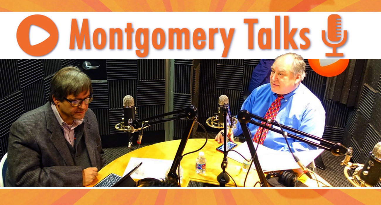 photo: Elrich Discusses the County on Montgomery Talks Podcast