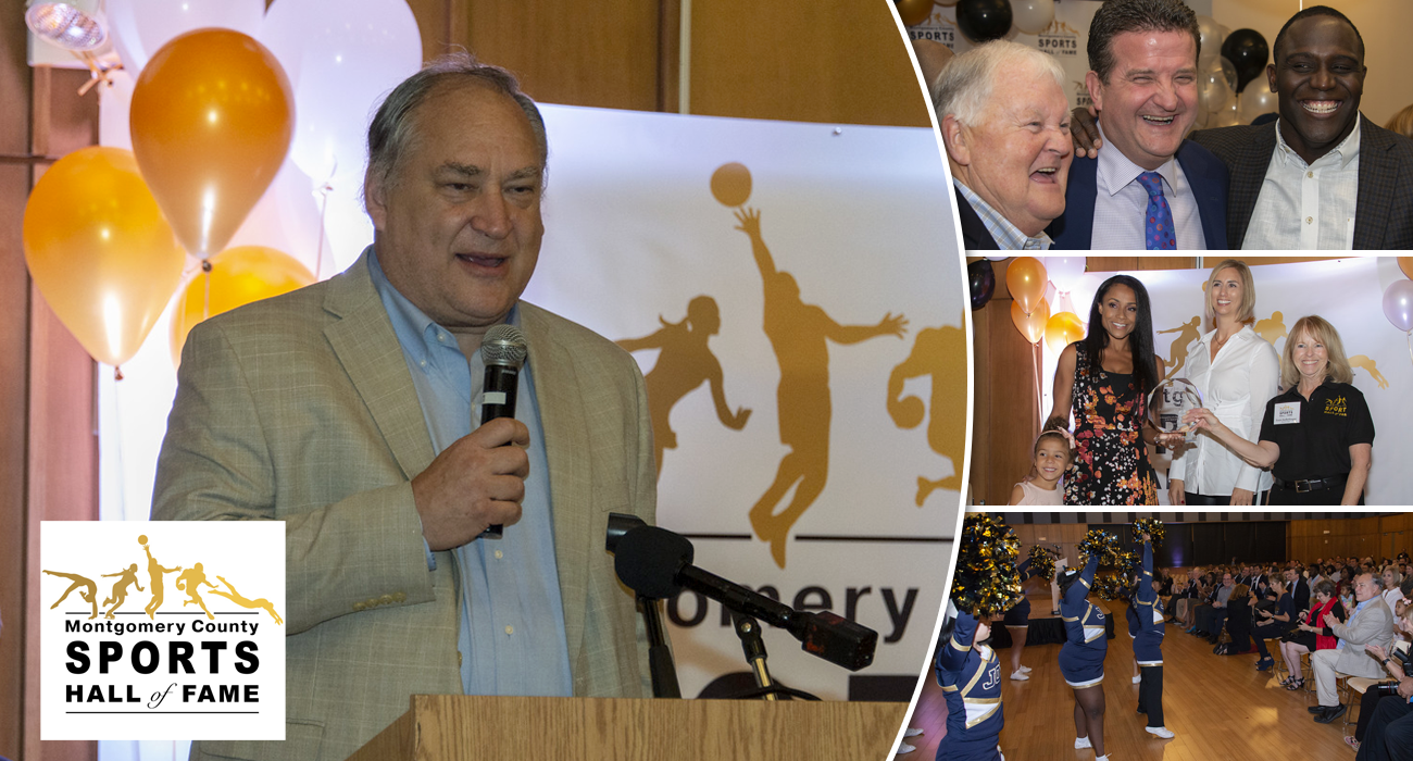 Montgomery County Sports Hall of Fame Inducts First Class