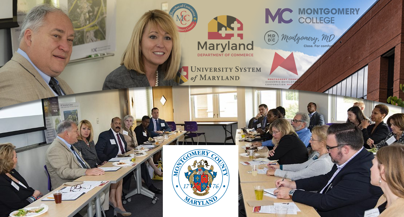 Maryland Commerce Secretary Visits Montgomery County