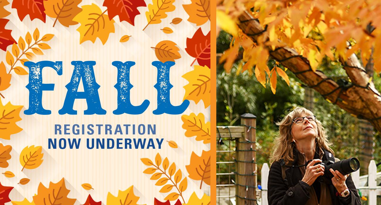 Fall Registration Begins August 12