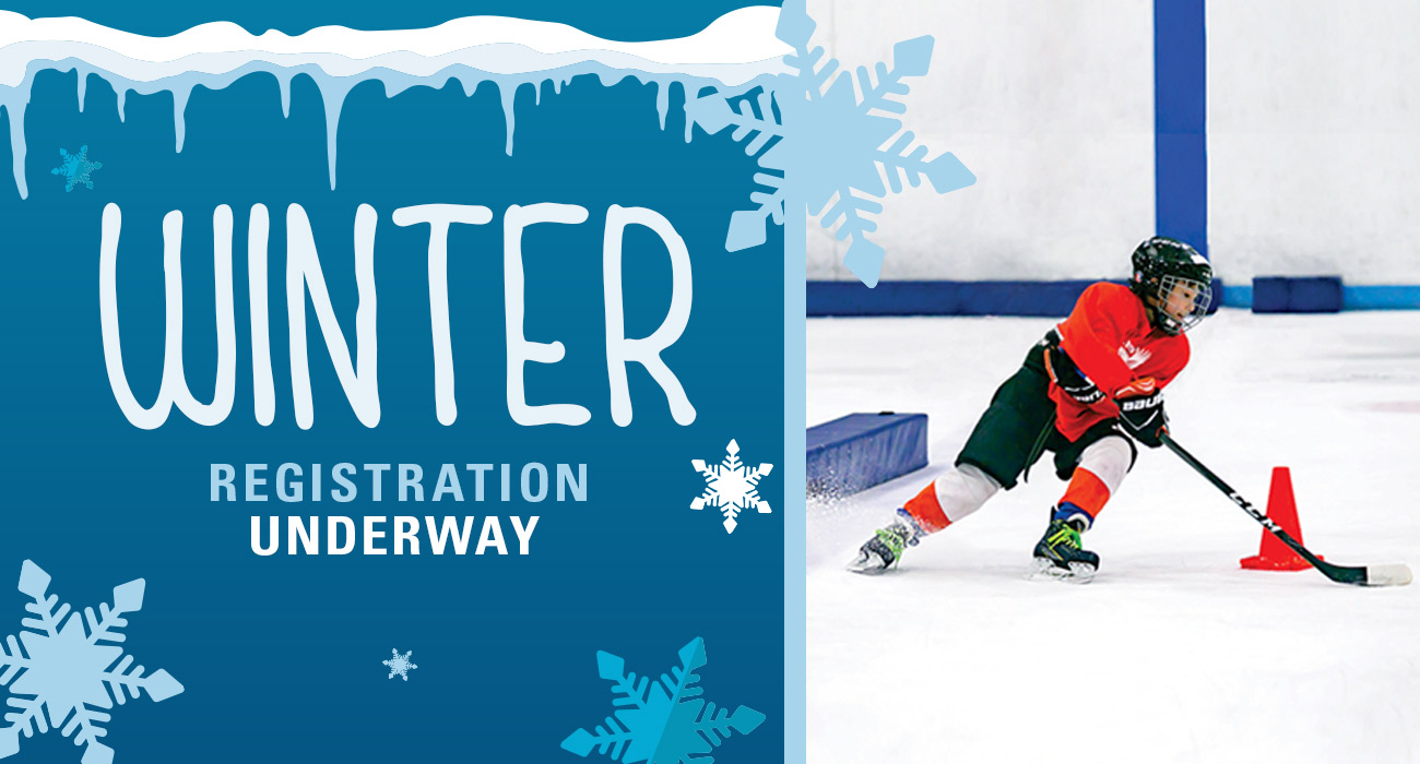 Winter Registration Begins Nov. 12