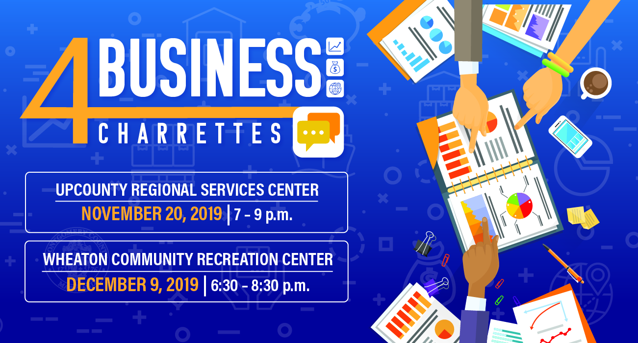 4Business Charrettes Set for Nov. 20 and Dec. 9
