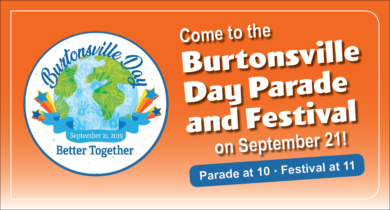 Burtonsville Day Parade and Festival on September 21!