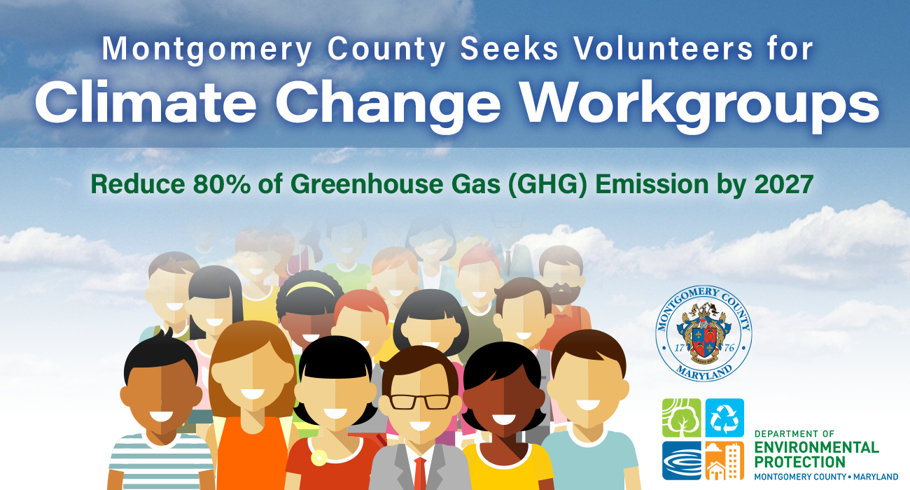 County Seeks Volunteers for Climate Change Workgroups