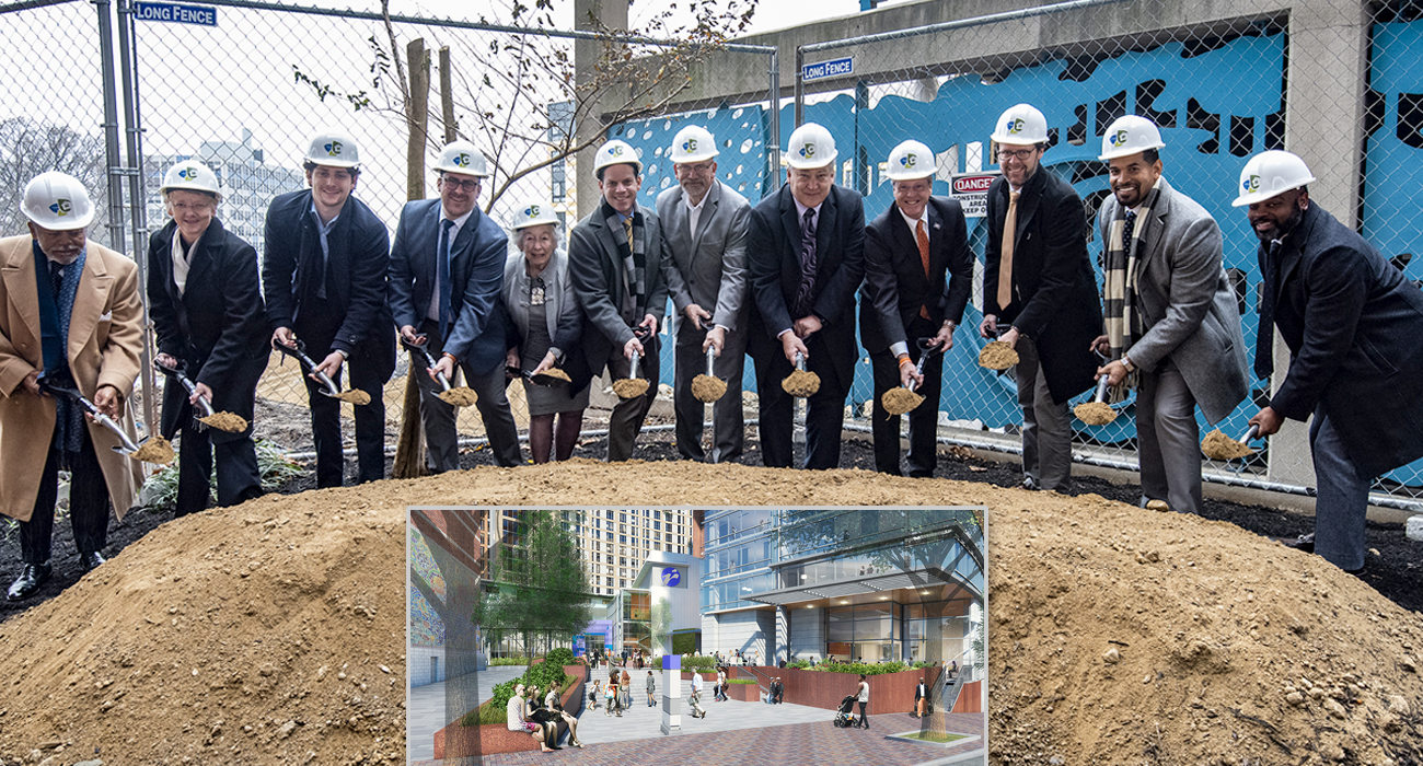 Groundbreaking for Recreation/Aquatic Center and Affordable Senior Apartments in Silver Spring