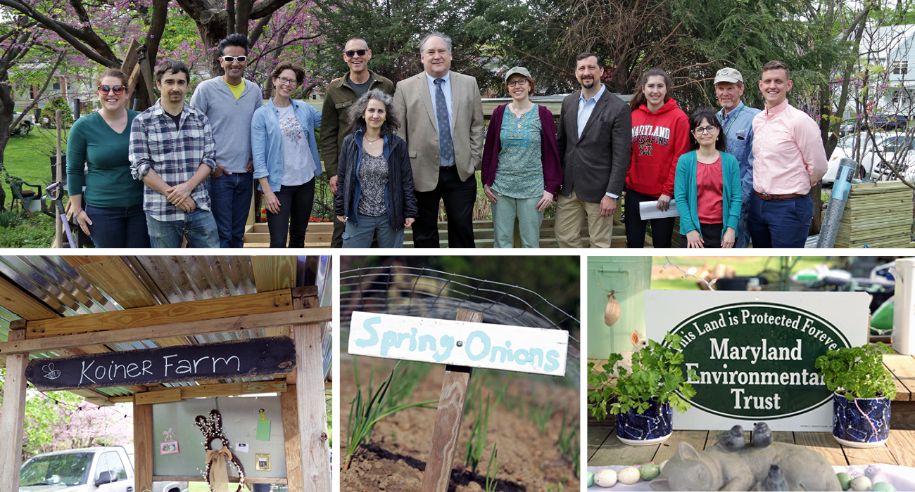 Photo: Celebrating Earth Day at Koiner Farm