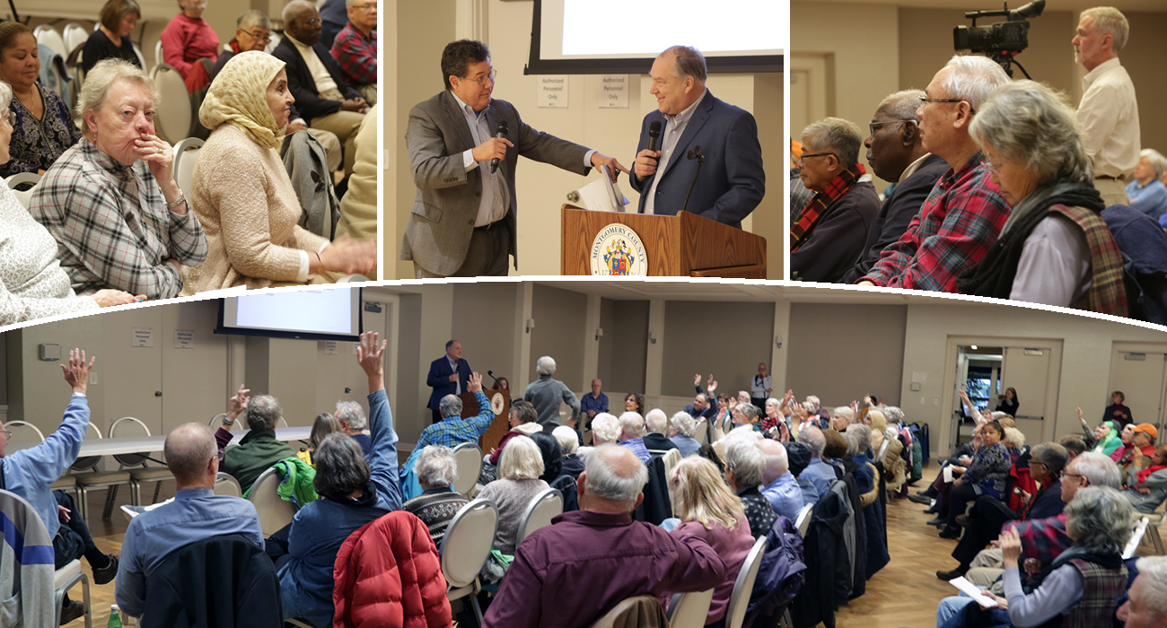 Photo: Elrich Holds Budget Forum for Seniors