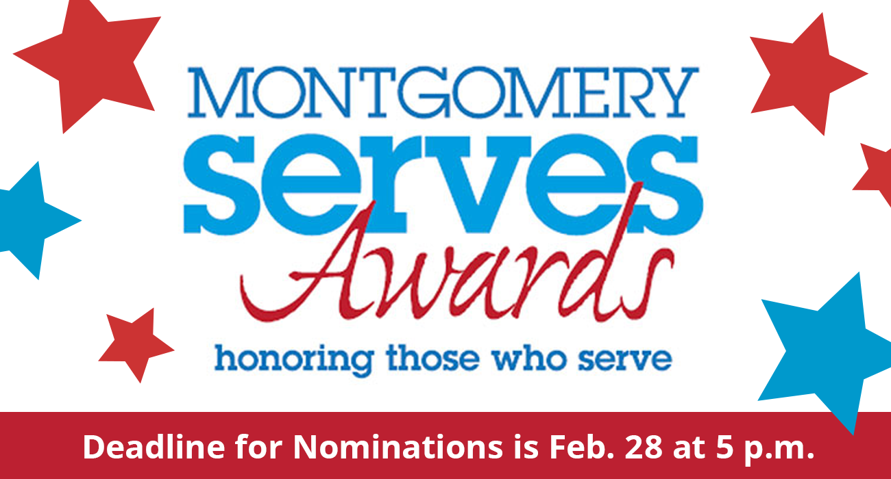 Nominations for Montgomery Serves Awards