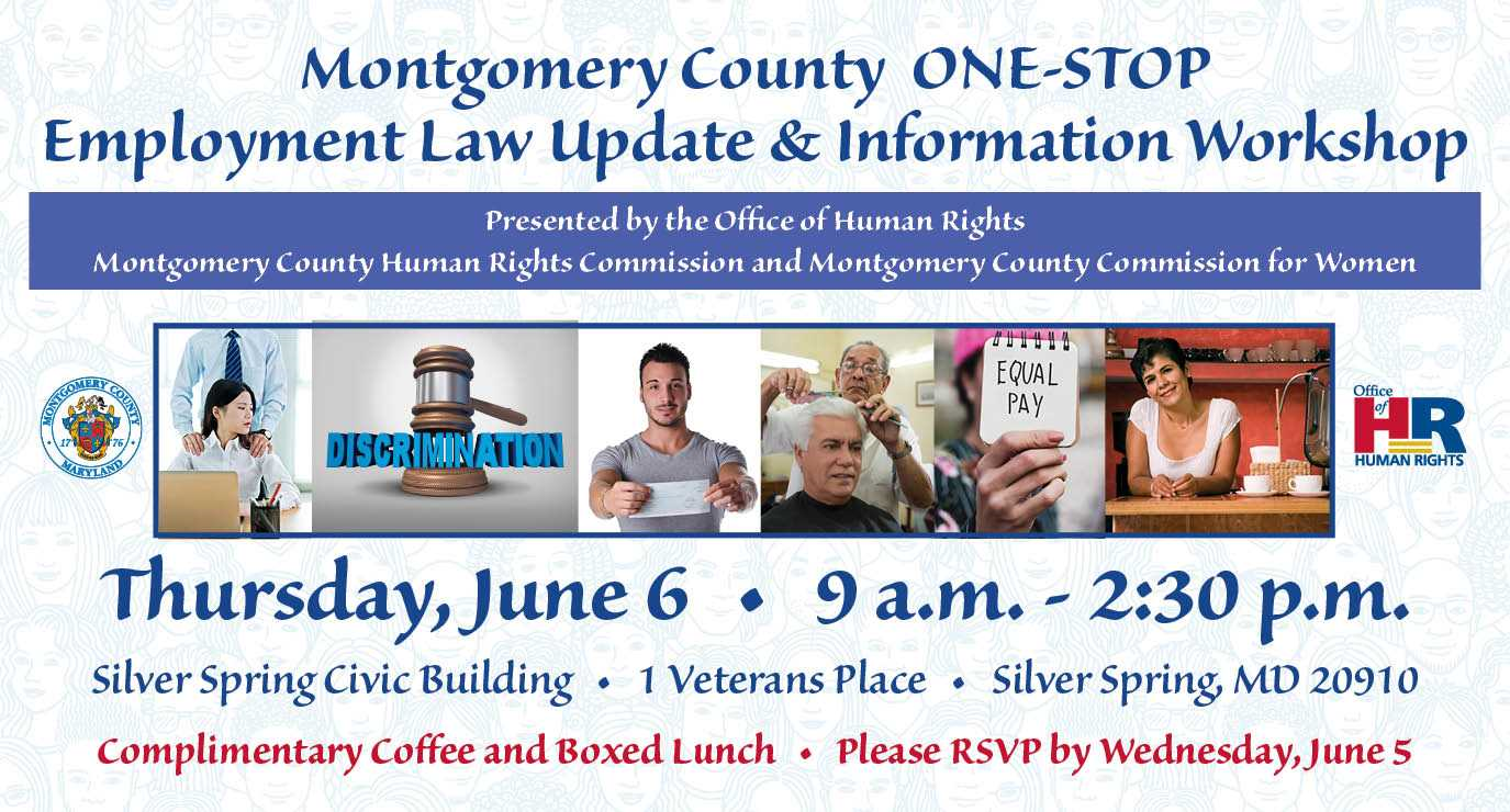 One-Stop Employment Law Update and Information Workshop