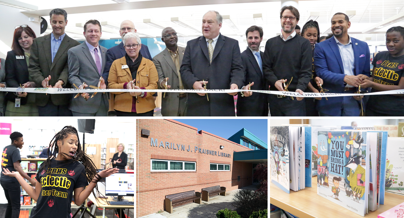 Libraries' Marilyn Praisner Branch Reopens for the Public
