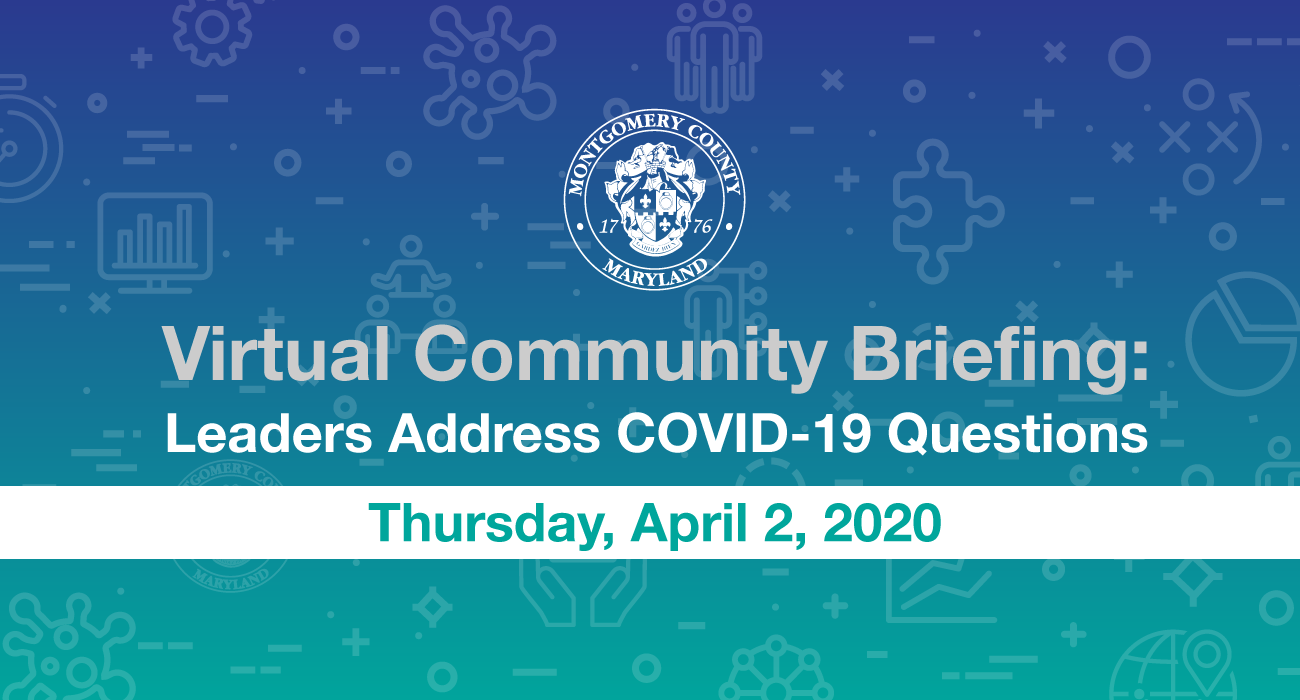 COVID-19 Virtual Community Briefing with Video