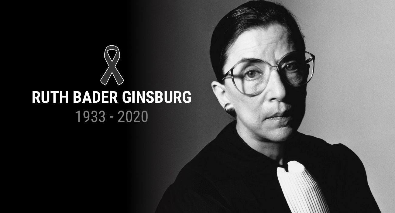 Montgomery County Executive Marc Elrich issued a statement on the passing of U.S. Supreme Court Justice Ruth Bader Ginsburg
