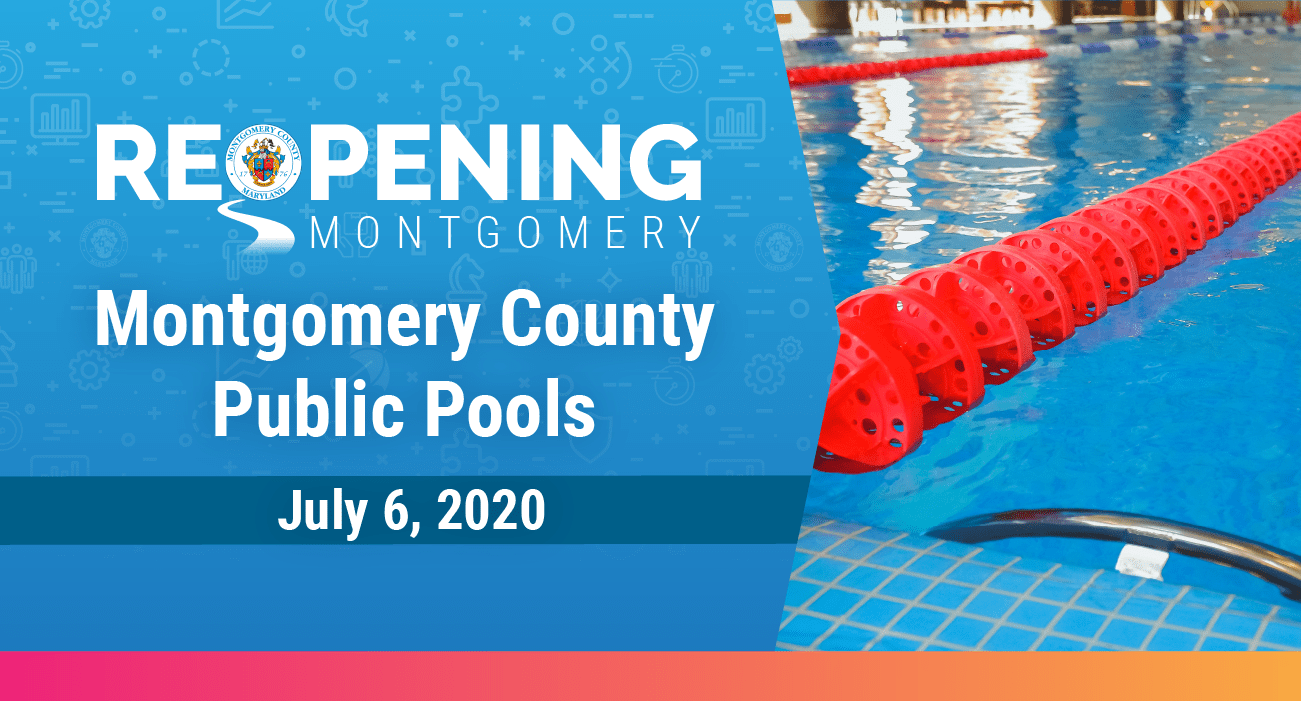Montgomery County Recreation Pools to Open Monday, July 6