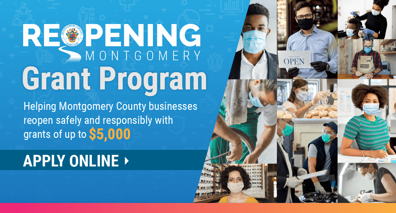 Reopening Montgomery Grant Program