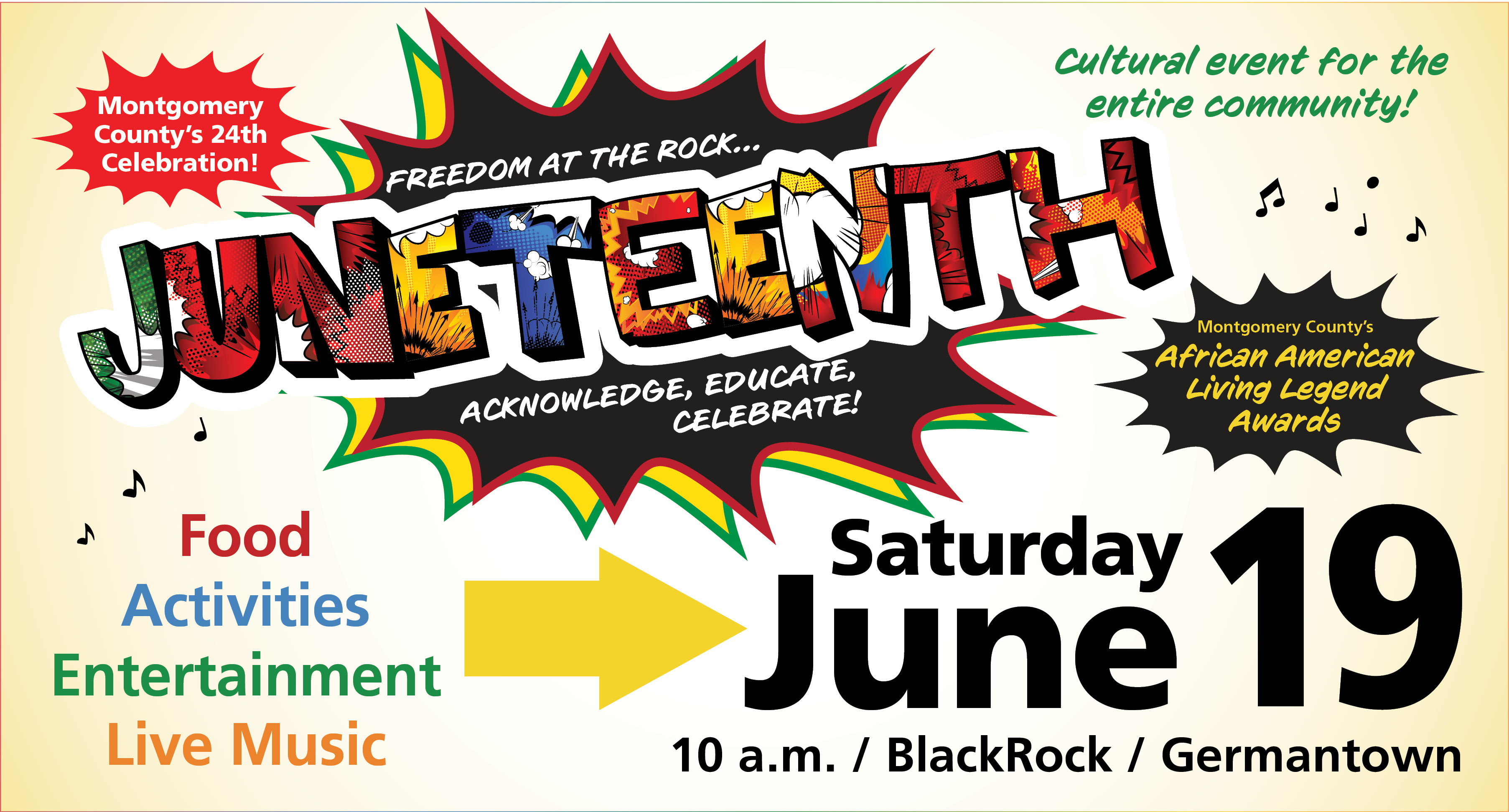 Montgomery County's 24th Juneteenth Celebration Announced
