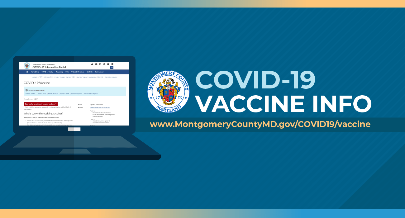 Vaccine and Priority Group Information Website