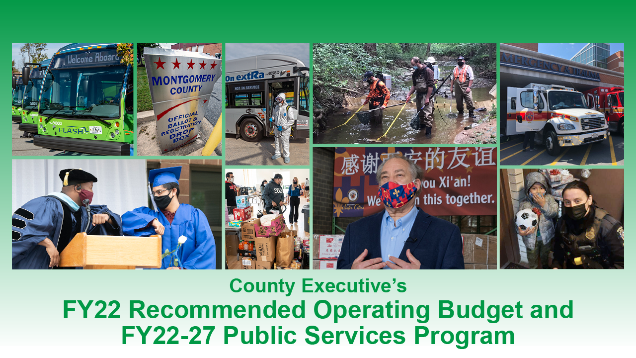 FY22 Recommended Operating Budget