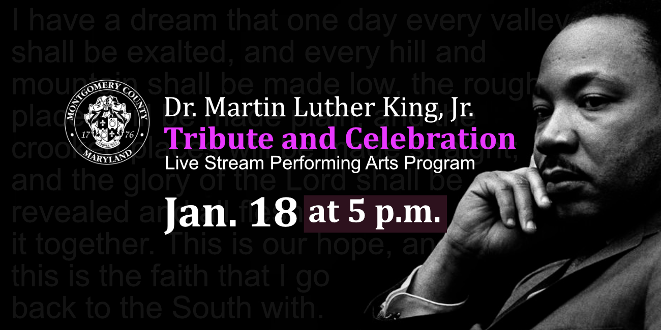 Annual Birthday Tribute and Celebration of Rev. Dr. Martin Luther King Jr.