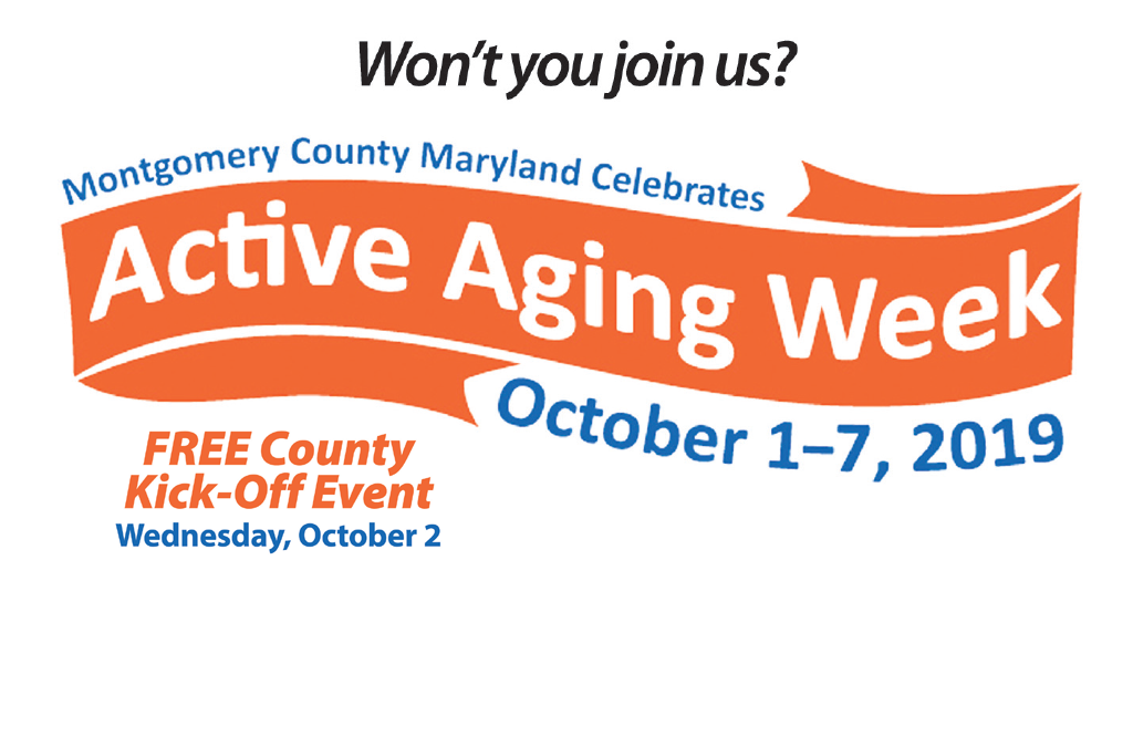 Image result for active aging week montgomery county md
