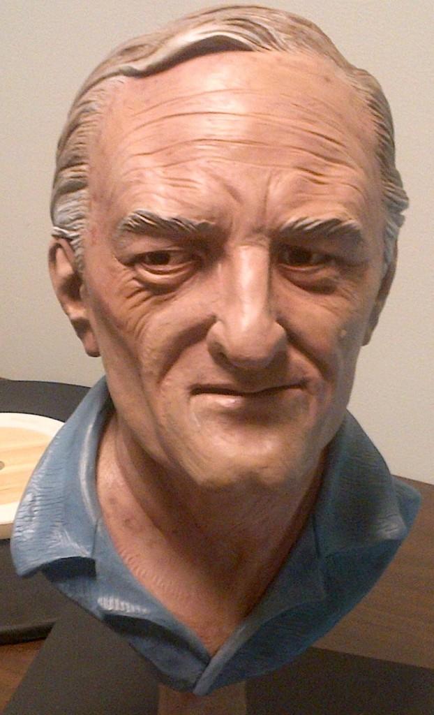 age-progressed bust of Bradford Bishop