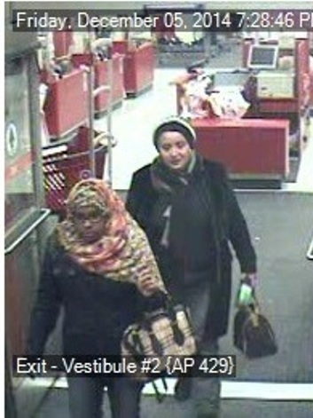 Two Suspects Exiting Store