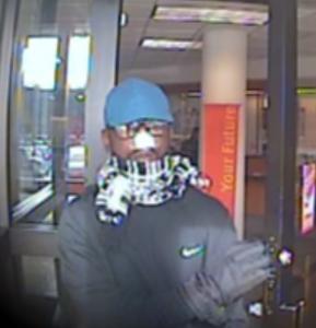 Suntrust bank robbery suspect